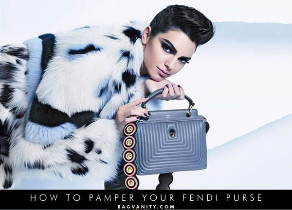 How to protect, clean and remove stains from your authentic fendi purse.