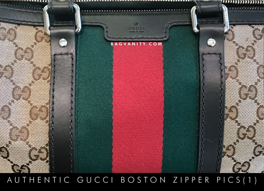 authentic gucci boston purse