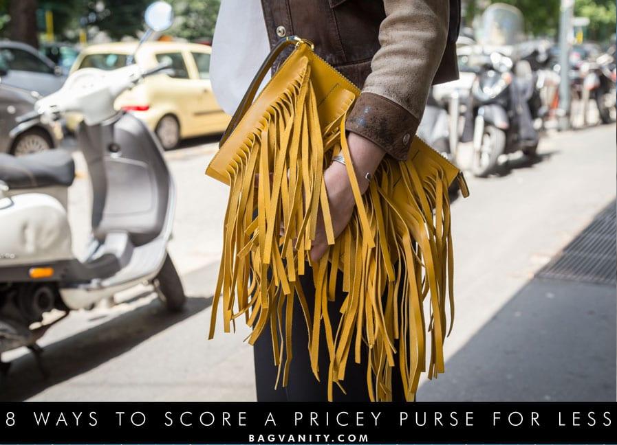 Have a designer handbag swap.