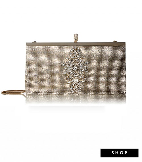 crystal encrusted clutch