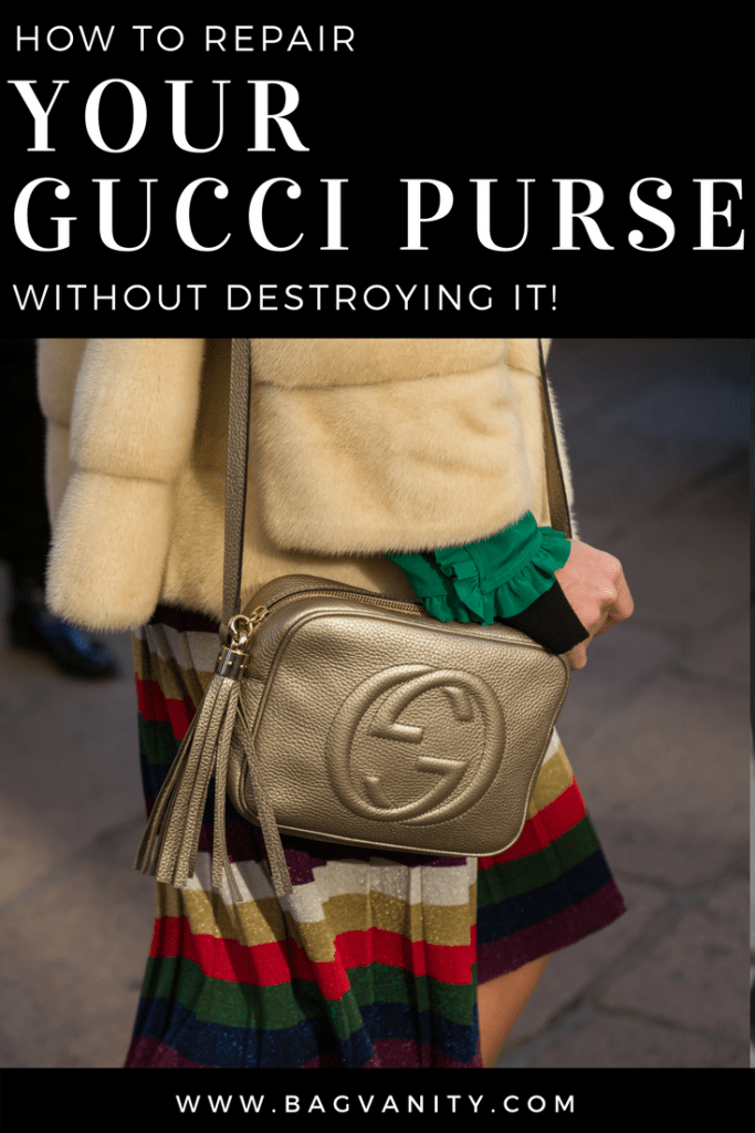 how to repair a gucci purse