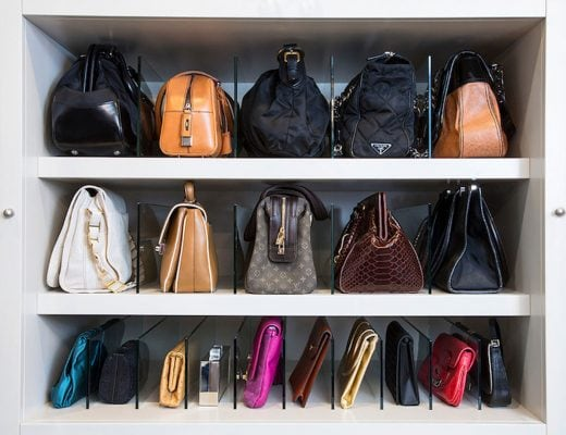easy handbag storage ideas best ways to store purses