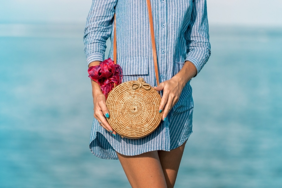straw purse and handbag questions